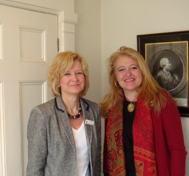 Sarah Spong asked local MP Laura Sandys to help ensure Enough Food for Everyone/